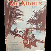 Old Sheet Music - Rio Nights - Nice Graphics