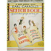 Don't Hang Your Dreams On A Rainbow - Old Sheet Music