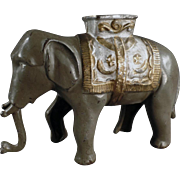 SOLD Old, A.C. Williams, Cast Iron Bank - Elephant with Howdah