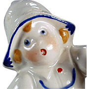 Old Egg Timer - Little Dutch Girl - German Porcelain