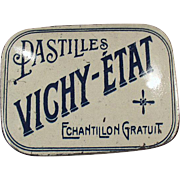 Old, Sample Tin - Vichy-Etat Pastilles