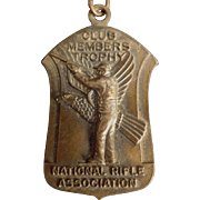 Old, National Rifle Association Medal - 1965 - Medal with Original Ribbon