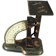 Old, Postal Scale with Tiger Stripe Finish - 1904