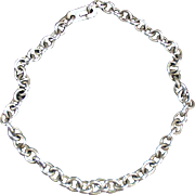 Old Charm Bracelet Chain - Silver