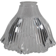Old, Holophane, Pagoda Light Shade - Small Neck Size