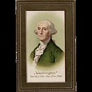SOLD Vintage, Patriotic Postcard - George Washington