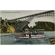 SOLD Colorful, Vintage Postcard - Maid of Mist, Niagara Falls