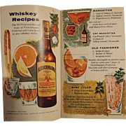 Old, Fleishmann's Mixer's Manual - Recipe Booklet for Bartending