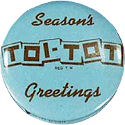Old, Toi-Tot, Advertising Tape Measure - Celluloid