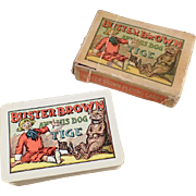 SOLD Old Buster Brown, Miniature Deck of Playing Cards with Original Box - Complete