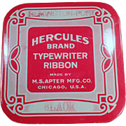 Old Typewriter Ribbon Tin - Hercules