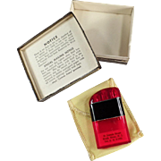 Old Cigarette Lighter - Ritepoint Liter with Advertising & Original Box