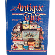 """Antique Tins"" Reference Book by Fred Dodge"