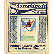 Old Stampkraft Book- 1914 Mother Goose Rhymes - Series 1