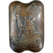 Old, Arm of Liberty, Cub Scout Neckerchief Slide