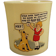 Old, Orphan Annie and Sandy, Ovaltine Mug - Beetleware