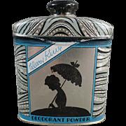 Old, Deodorant Powder Tin - Watkins' Mary King Line