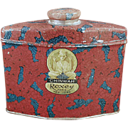 Old Talc Tin - Roxey Chinwah - 1920's