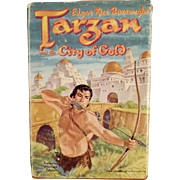 SOLD Children's Vintage Book - Tarzan and the City of Gold