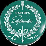 Vintage, Typewriter Ribbon Tin - Carter's Stylewriter