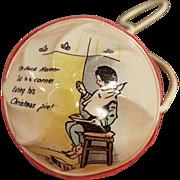 Vintage, Celluloid Baby Rattle - Little Jack Horner