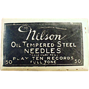Vintage, Steel, Phonograph Needles - Nelson