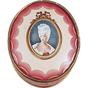 Vintage Face Powder Box - Du Barry, Richard Hudnut
