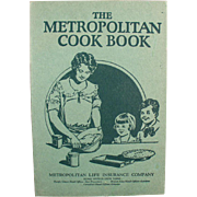 Vintage, Metropolitan Cook Book with Great, Common Sense Information