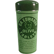 Vintage, Dr. Edwards Laxative Tin