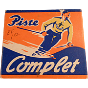 Old, Holmenkol, Piste Complet Ski Wax in Original Package