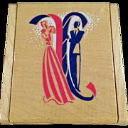 Vintage, Evening in Paris Compact - Wood Case