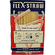 Vintage Flex-Straws in Original Box
