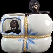 Vintage Black Memorabilia - Babies in Cotton Bale Whimsy