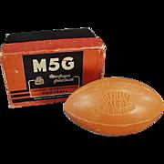 Vintage Soap - Intercollegiate Football with Original Box