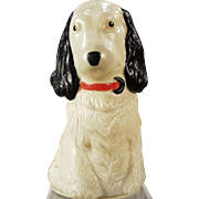 Vintage, Figural, Celluloid Tape Measure - Spaniel