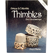 Old Reference Book - Antique & Collectible Thimbles and Accessories
