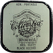 Vintage Typewriter Ribbon Tin - Columbia