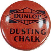 Vintage, Dunlop Dusting Chalk, Tin