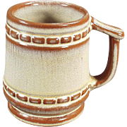 Vintage Frankoma Coffee Mug in Desert Gold