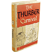 Vintage Book - The Thurber Carnival by James Thurber - 1945 Edition