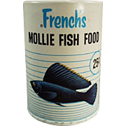 Vintage, French's Fish Food Box