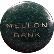 Vintage Celluloid, Advertising Tape Measure - Mellon Bank