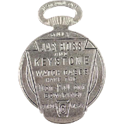 Vintage Watch Fob & Watch Case Opener - Jas Boss & Keystone