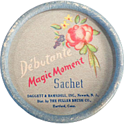 Vintage Debutante Sachet Box - Magic Moment - Fuller Brush Co.