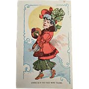 Vintage Postcard with a Bit of Humor