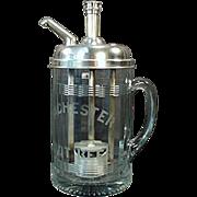 Vintage - Rochester Mug Root Beer Dispenser - Soda Fountain Advertising Piece