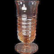 Vintage, Parfait Glass - Pink Paden City - 4 Available