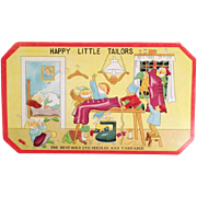 Vintage, Sewing Needle Book - Happy Little Tailors