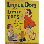 Children's, Vintage, Platt & Munk Box with Cute Graphics