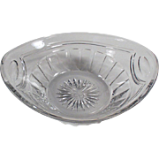 Vintage Heisey Dish - Small Bowl or Nappy - 1916 Patent
